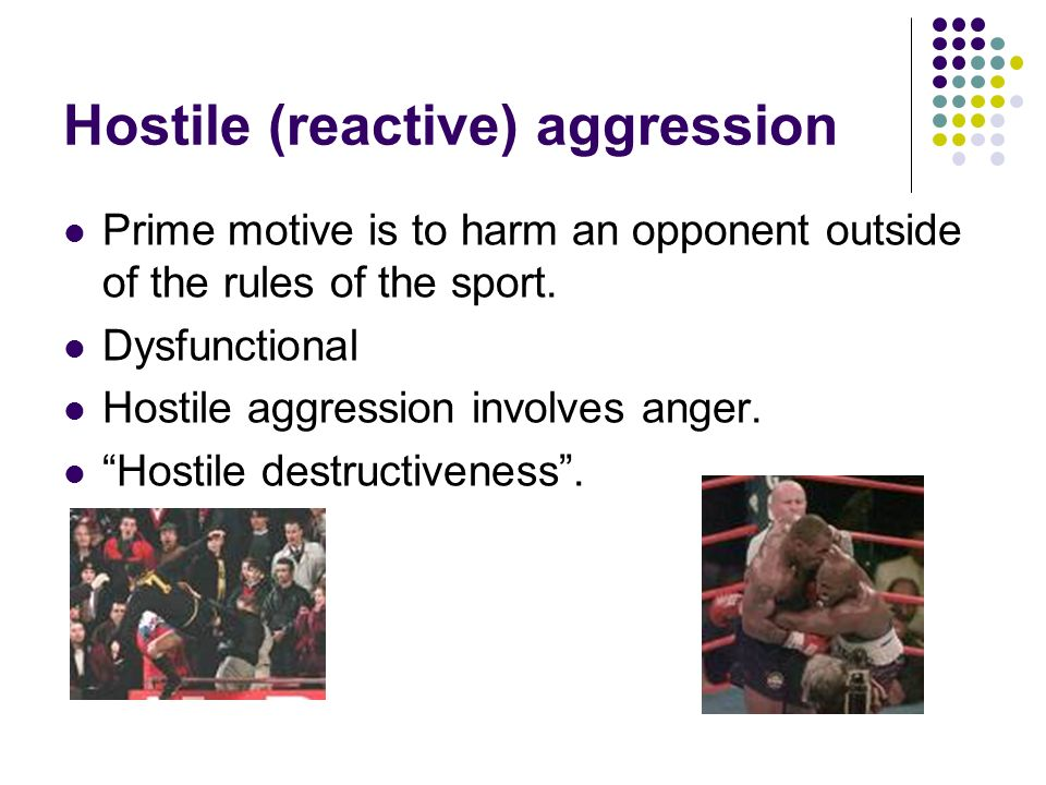 Difference Between Hostile and Instrumental Aggression