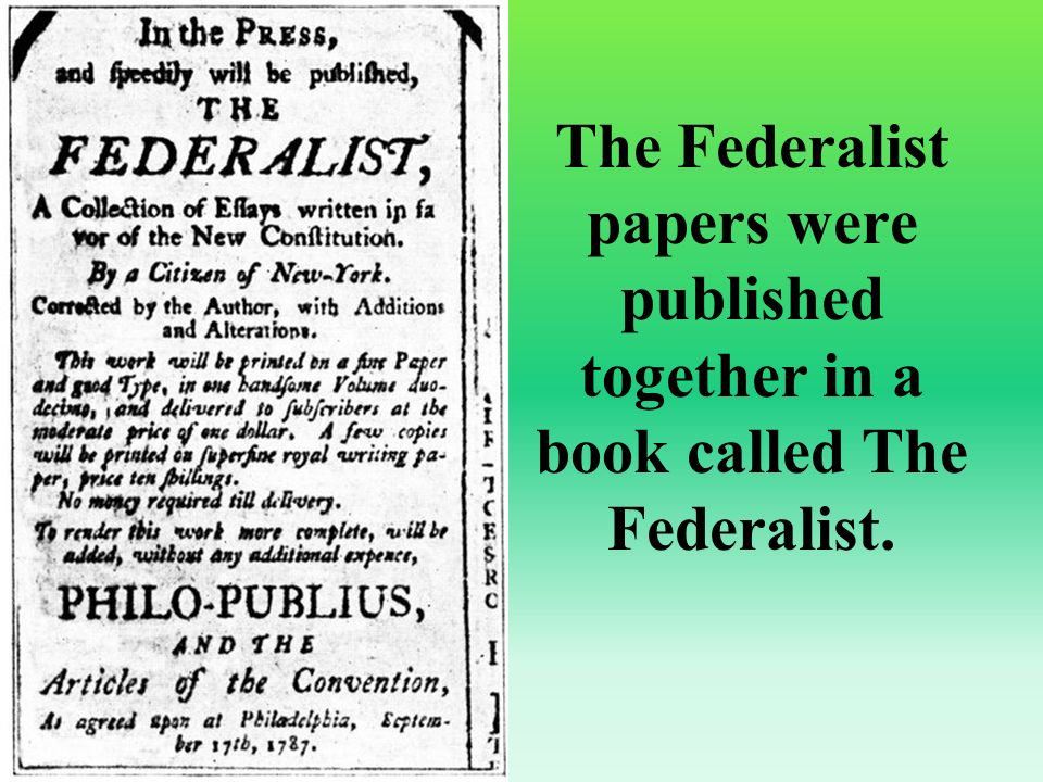 what essays were written to defend the constitution The federalist papers essays are academic essays for citation these papers were written primarily by students and provide critical analysis of the federalist papers by alexander hamilton, john jay and james madison.