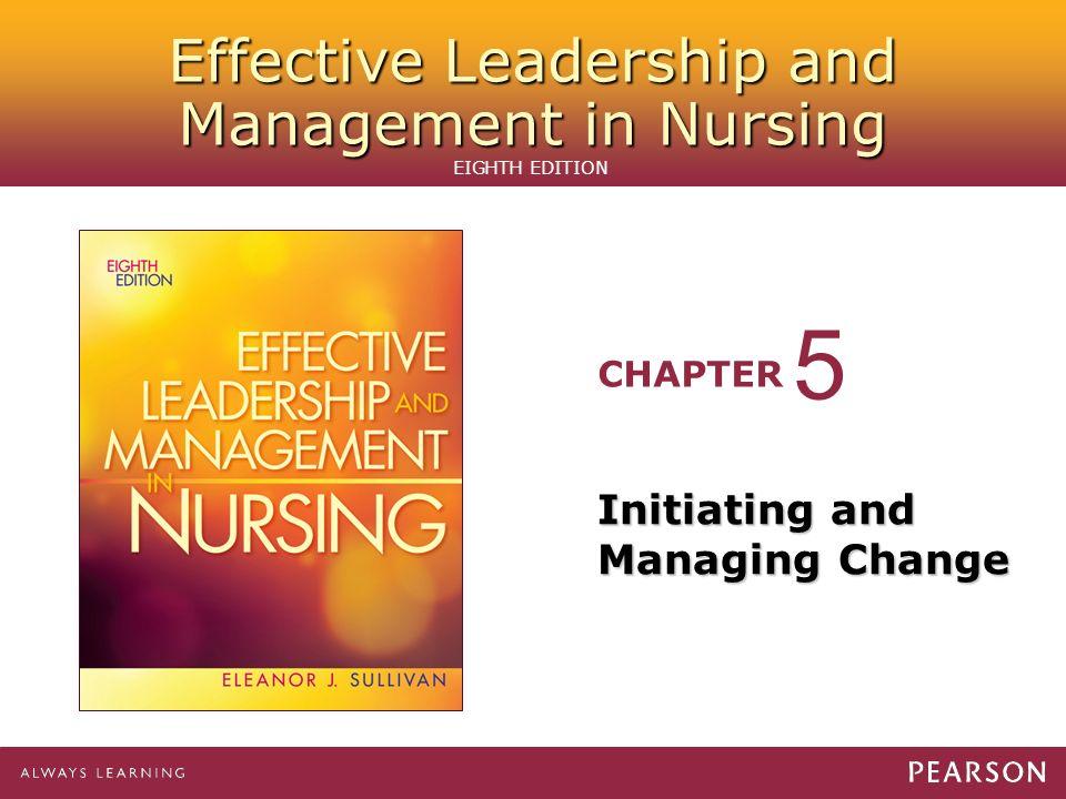 nursing essay on change management