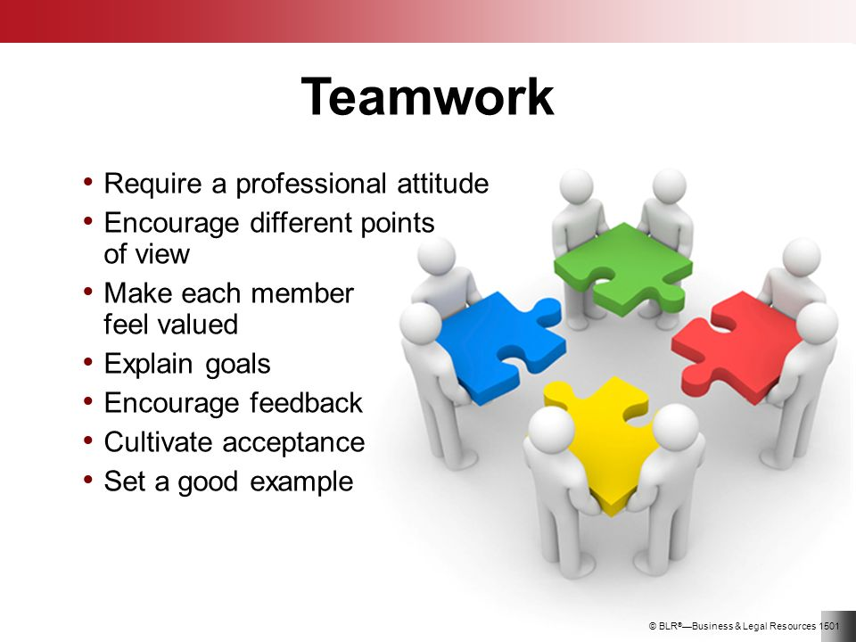 how to support and encourage team members