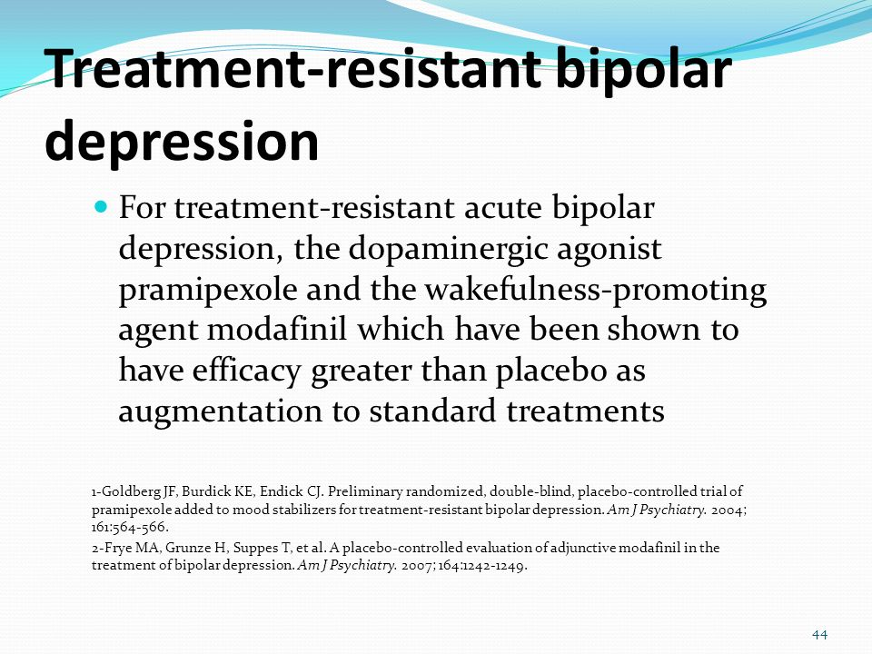 an analysis of the treatment of manic depression Predict bipolarity: cluster analysis based evidence kemal dumlu a  treatment- induced mania is not considered as bipolar disorder in dsm iv the aim of this.