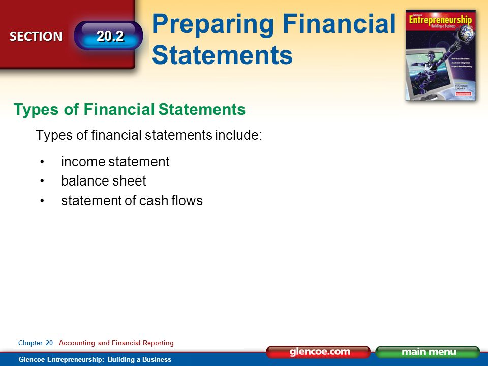 the importance of accurate financial statements Financial statements are generally divided into four distinct parts: a balance sheet, income statement, statement of stockholder equity, and statement of cash flows the balance sheet the balance sheet is a snapshot of the financial health of a company at a given point in time.