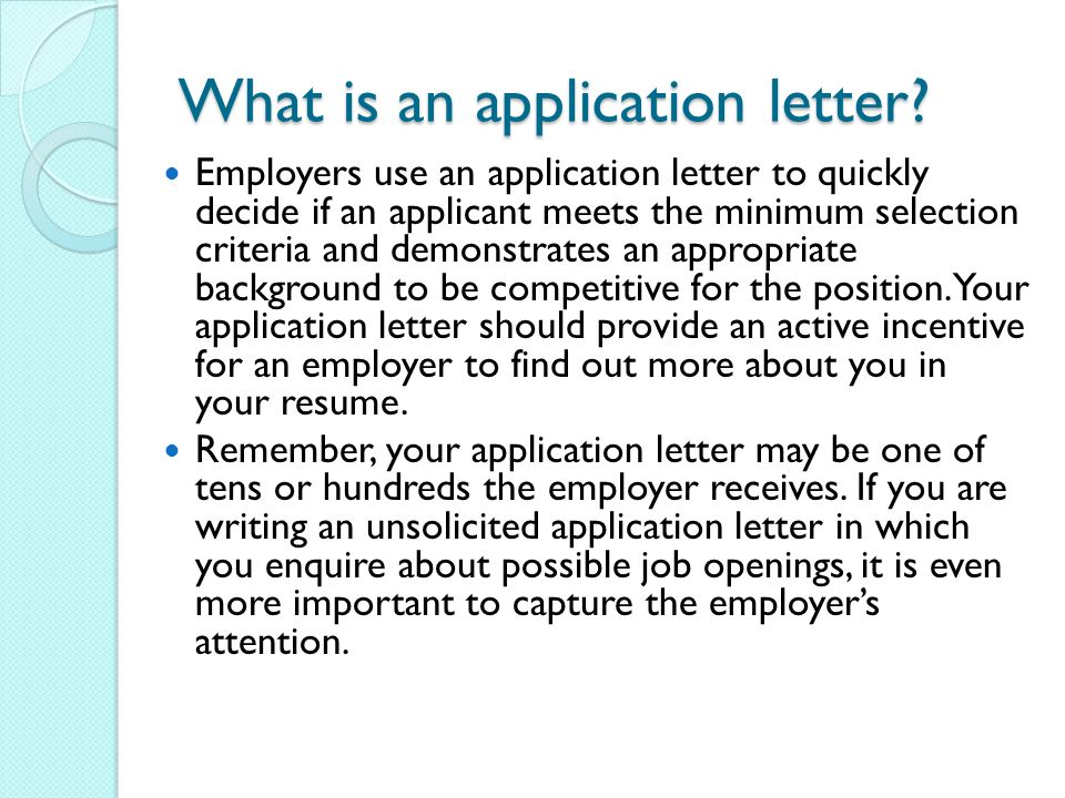 unsolicited application letter of an accountant Sample unsolicited application letter for accountant, a job seeker may desire employment with a particular company that has not posted open job requisitions in this case, an unsolicited application letter is browse our unsolicited application letter samples to learn to write the easiest application letter yet try using a cold cover letter to get a.