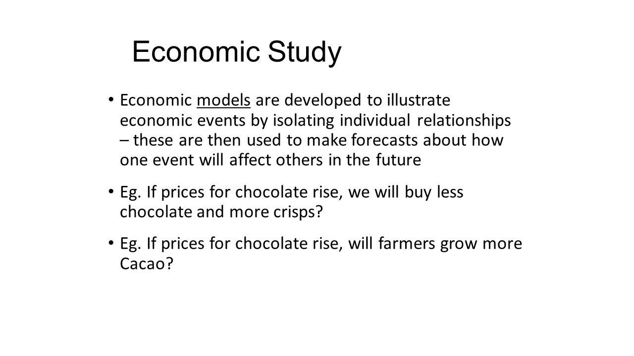 a study of economic models