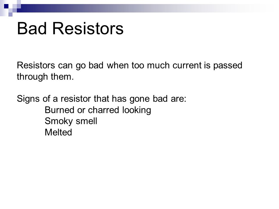 Can a bad resistor out a car s blower motor 28 images for Bad blower motor symptoms in hvac
