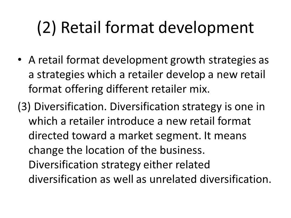 market expansion strategies for online retail A strategy of market development focusses either on attracting new market segments or completely changing the customer base market development normally involves bolder strategy shifts, more capital, and greater risk than a market penetration strategy.