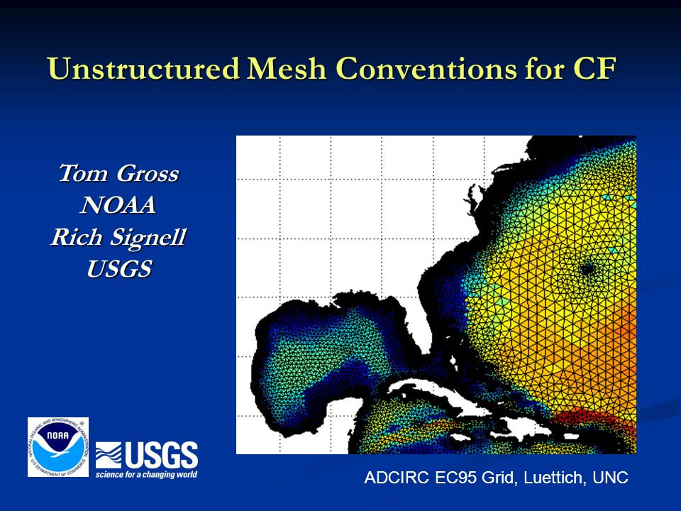 Unstructured Mesh Conventions for CF