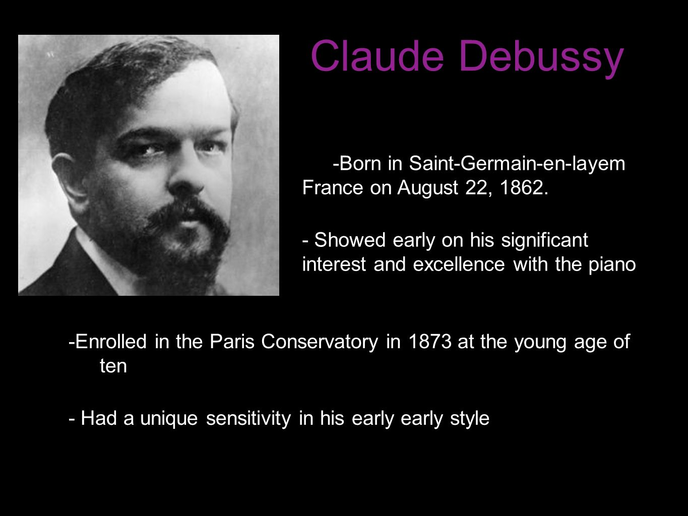 claude achille debussy Debussy - rêverie - ebook written by claude achille debussy read this book using google play books app on your pc, android, ios devices download for offline reading, highlight, bookmark or take notes while you read debussy - rêverie.