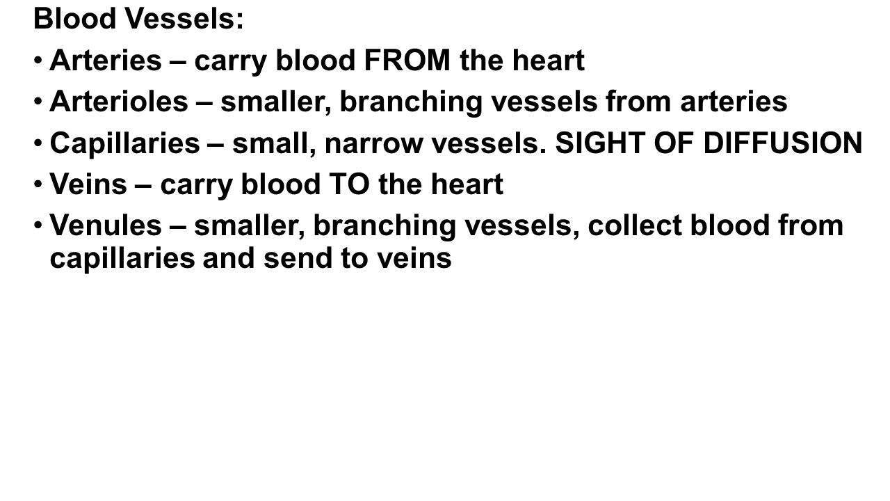 Heart and Blood Structures and functions: - ppt video online download