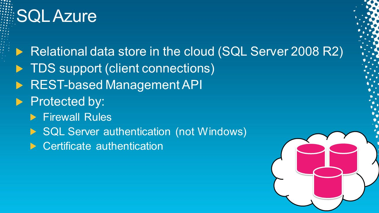 Architecting for a secure cloud ppt video online download 17 sql 1betcityfo Image collections