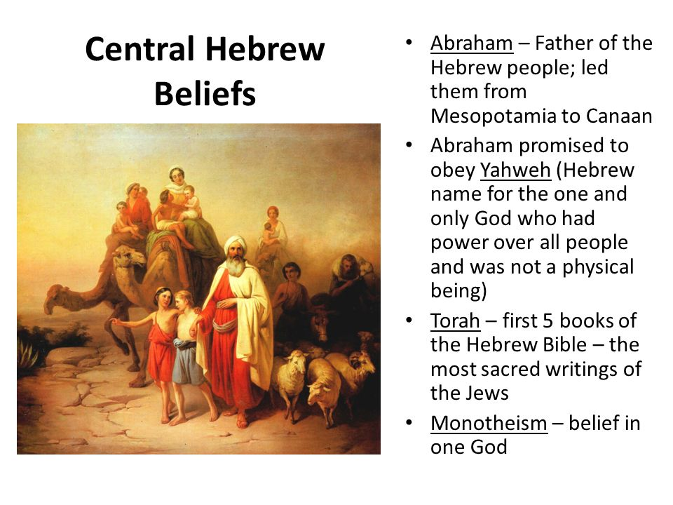 An introduction to the mythology of a deity by hebrews
