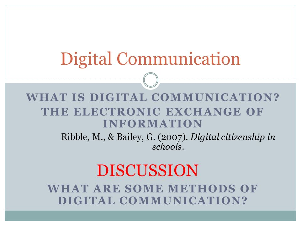 definition of digital communication Gsm (global system for mobile communication) is a digital mobile telephony system that is widely used in europe and other parts of the world gsm uses a variation of time division multiple access (tdma) and is the most widely used of the three digital wireless telephony technologies.