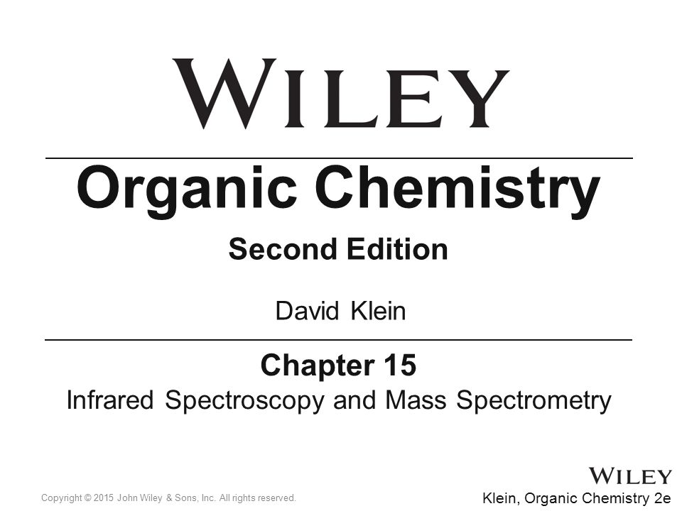 Infrared Spectroscopy and Mass Spectrometry - ppt download