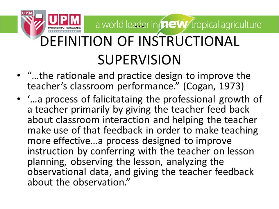 Definition Of Classroom Design ~ Edu instructional supervision ppt video online download