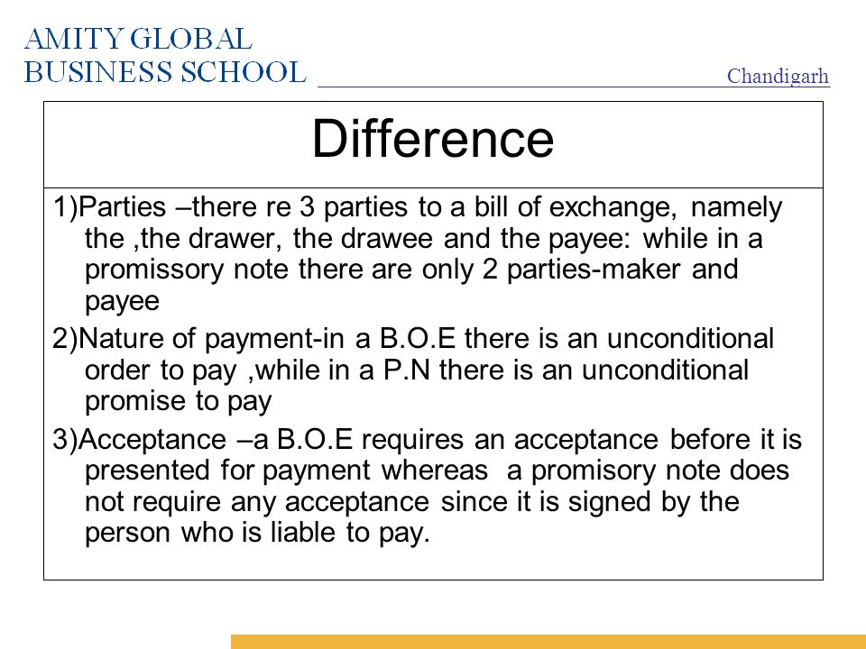 Negotiable instruments ppt video online download – Promissory Note Parties