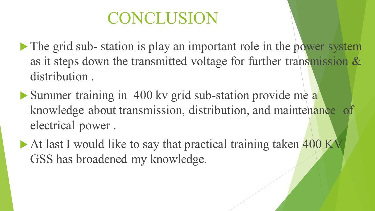 A Summer Tranning Presentation On 400 Kv Grid Sub Station