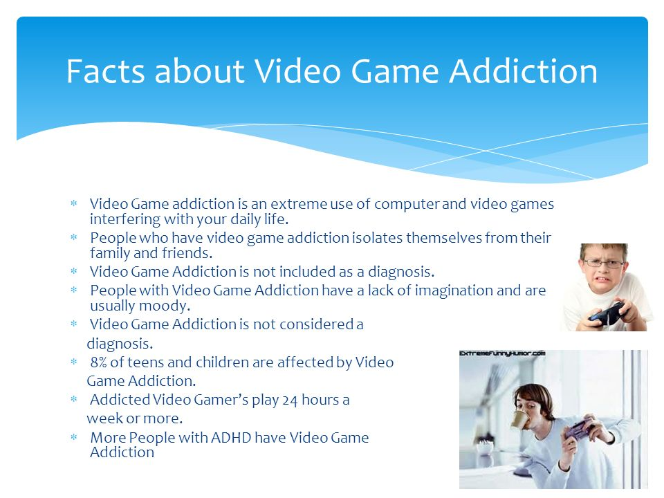related literature about computer games addiction to the students However , video games may have negative effects too for my opinion , video games will definitely affect us as a college students 31 negative impact of playing video games alertness teenagers that do not have their video games playing time limit by their parents might find themselves playing until late at the night this can result in a.