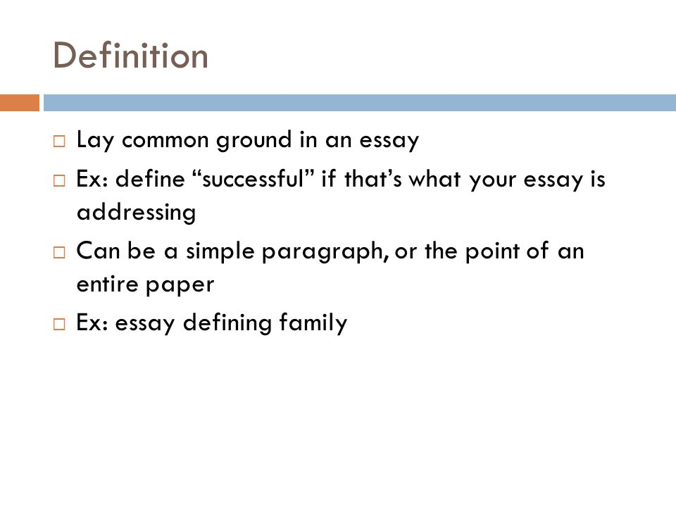 the language of composition ppt video online 27 definition lay common ground in an essay