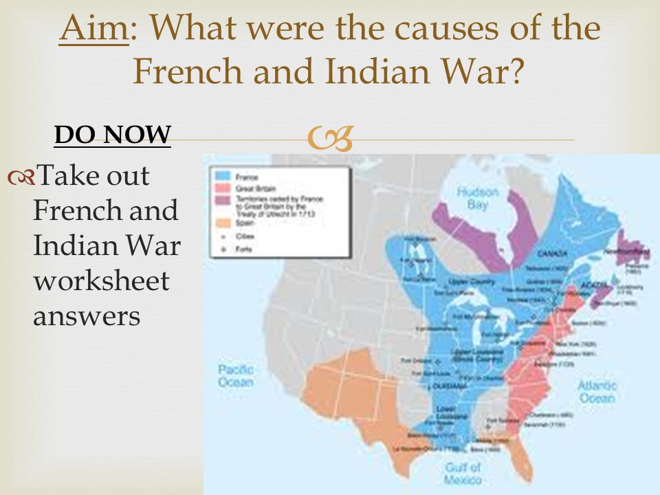 French and Indian War ppt video online download – French and Indian War Worksheets