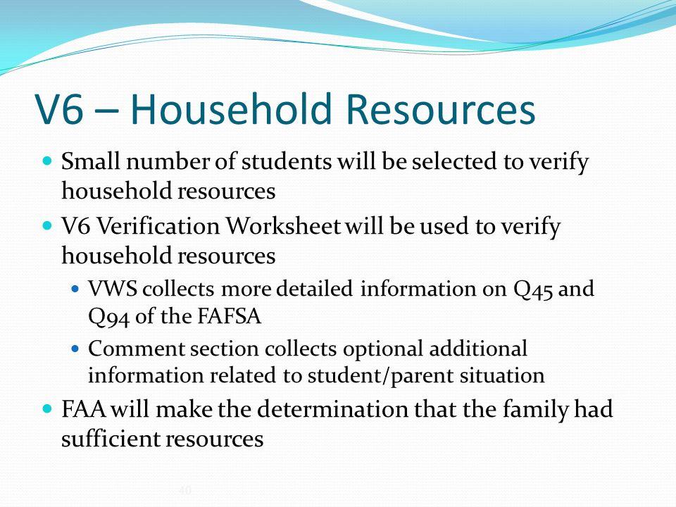 Verification ppt download – Verification Worksheet Fafsa