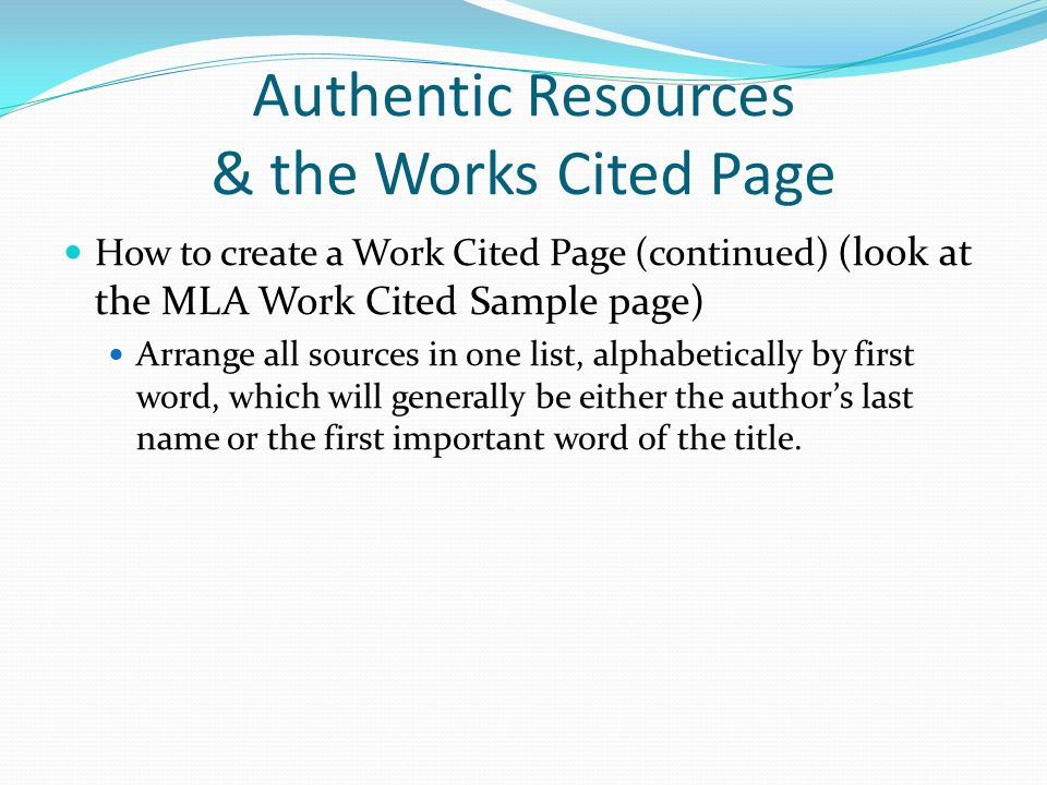 mla 8 works cited page aildoc productoseb co