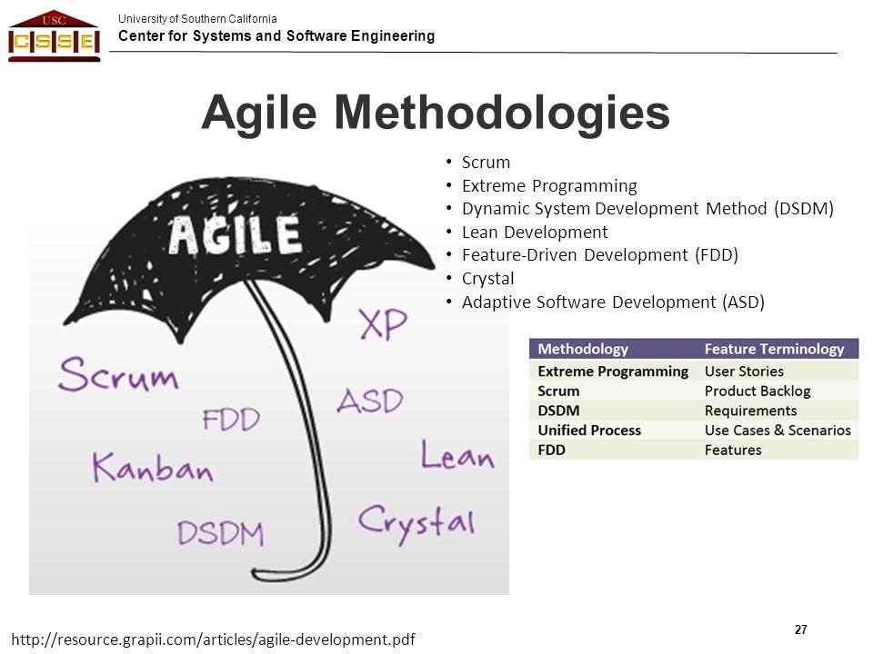 27 agile methodologies scrum extreme programming - What Is Agile Methodology Pdf