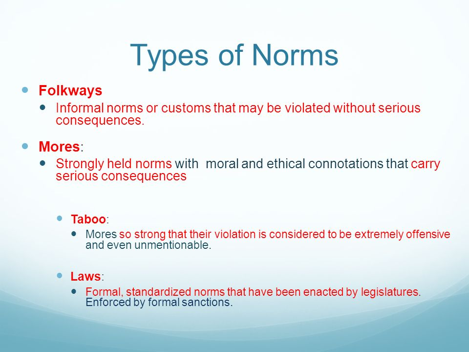 a description of informal norm violation Whether formal or informal, sanctions are a way of singling out offenders an example of informal sanctions is a boycott although boycotts are typically actions taken en masse, they entail individual decisions to forego a product or service in response to an objection to it.