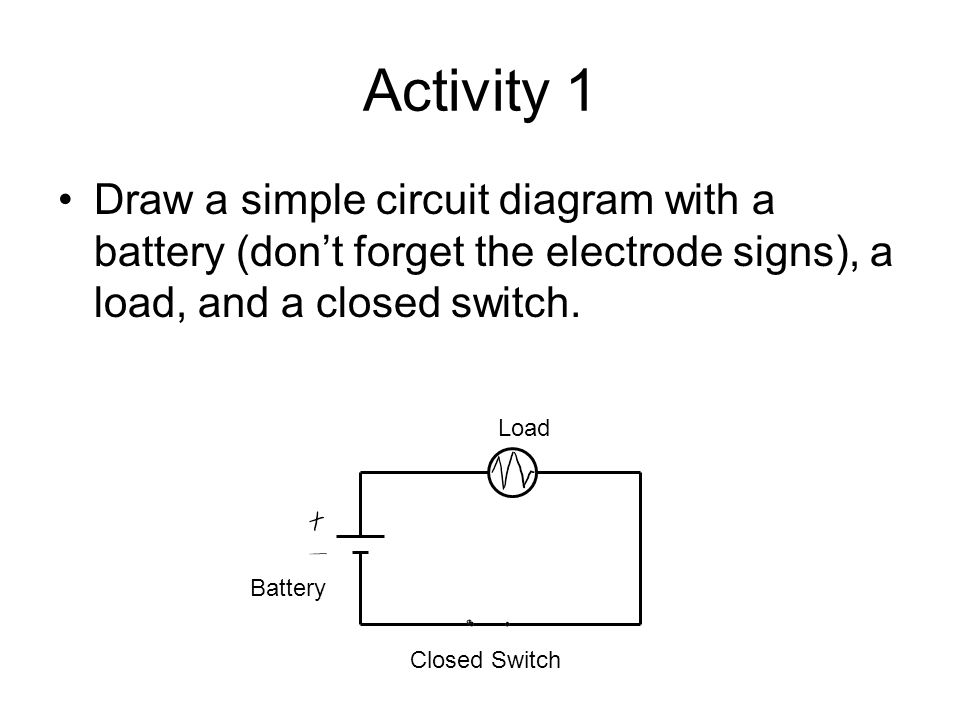 electric current and circuits - ppt video online download circuit diagram battery direction battery charger circuit diagram #12