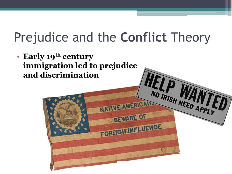 How do sociological perspectives explain the causes of prejudice and discrimination?