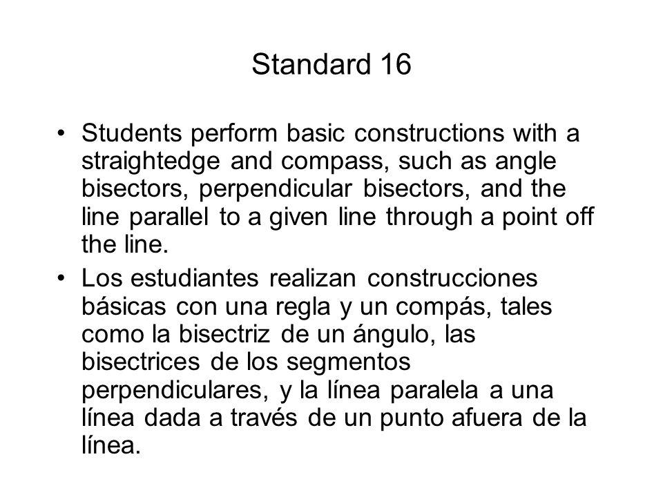 Standard 16