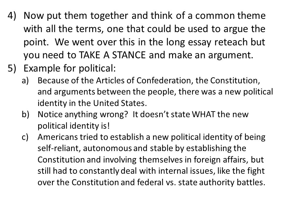 apush dbq essay articles confederation This document-based question consists of two several states met in philadelphia to revise the articles of confederation dbq essay rubric for dbq.