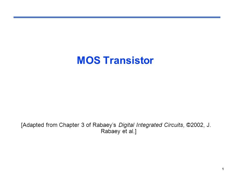 1 mos transistor