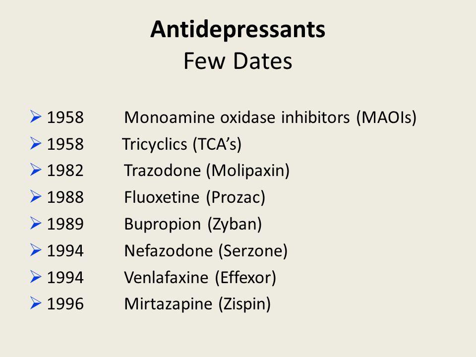 Effexor Prozac Trazodone