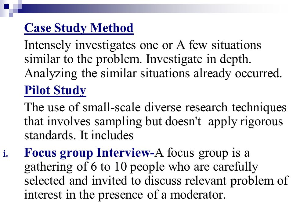 case study on research methodology Case study methodology in business research jan dul and tony hak amsterdam • boston • heidelberg • london • new york • oxford paris • san diego • san francisco • singapore • sydney • tokyo.