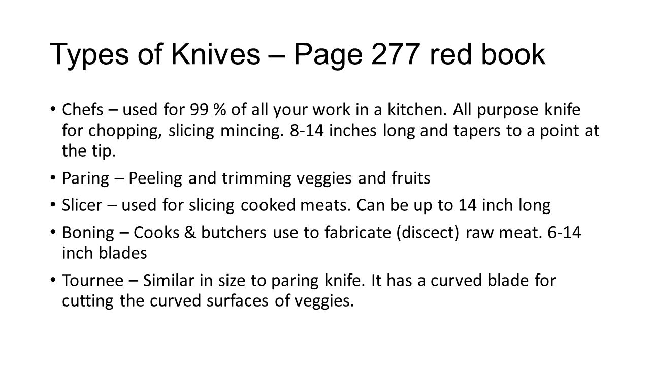 Knife Cuts. - ppt video online download