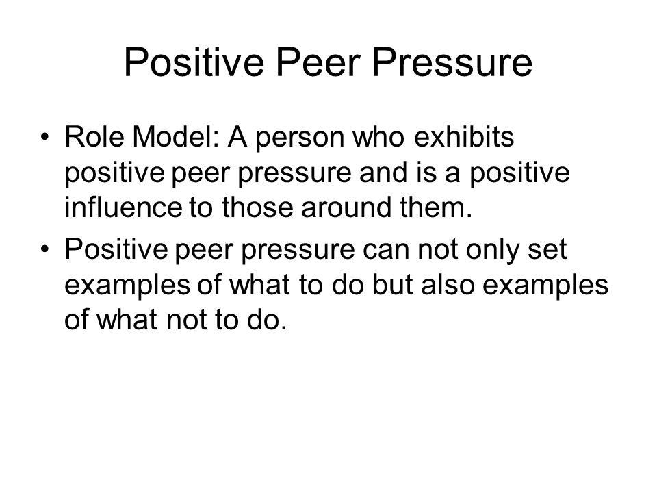 the influencing power of peer pressure There is growing evidence of the power of social influence in general, and peer  pressure in particular, in promoting cooperative behavior.