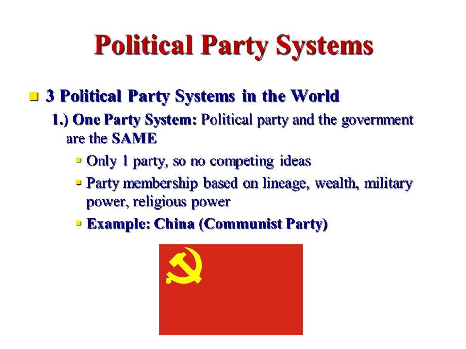 multi party system advantages and disadvantages pdf