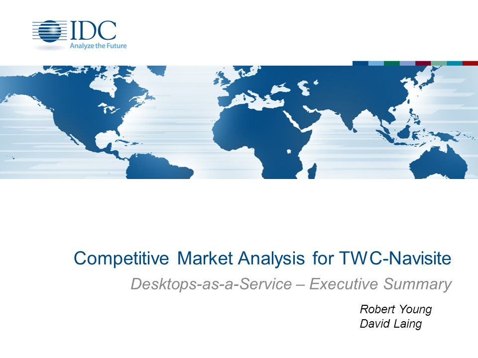 Competitive Market Analysis For TwcNavisite  Ppt Video Online