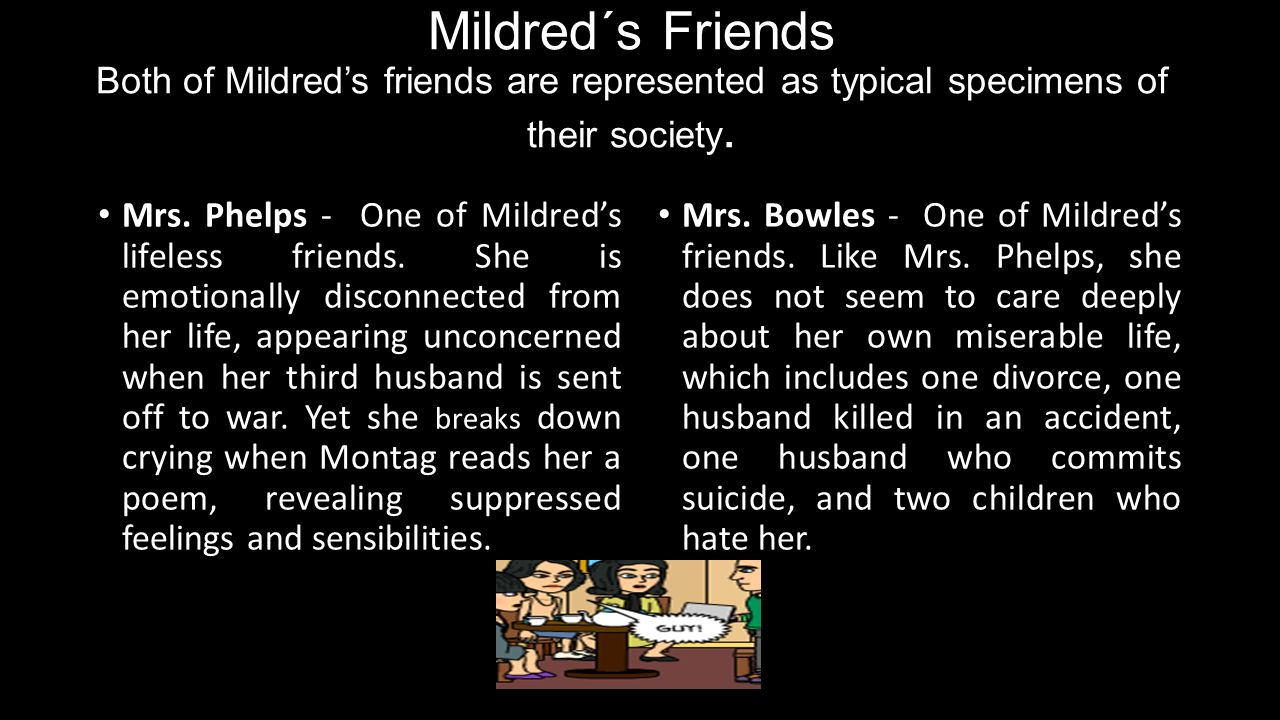 fahrenheit 451 mildred and montag relationship trust