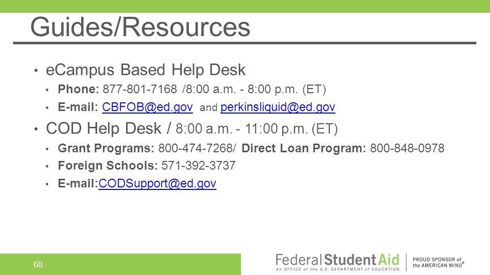 Guides Resources Ecampus Based Help Desk