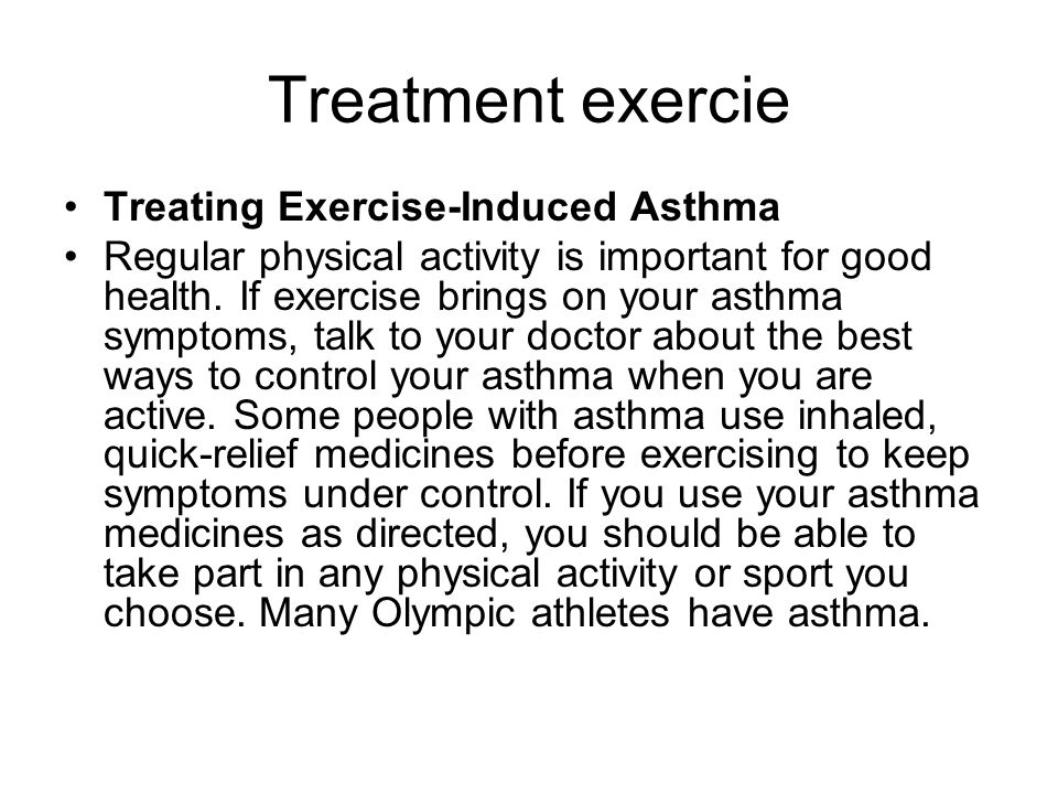 exercise induced asthma essay Read this essay on asthma paper come browse our large digital warehouse of free sample essays  trigger a occupational asthma b nocturnal asthma c exercise induced asthma the transmission of asthma a asthma is a chronic disease of the lungs 1 breathing becomes obstructed 2 airway constriction 3  asthma paper on asthma september.
