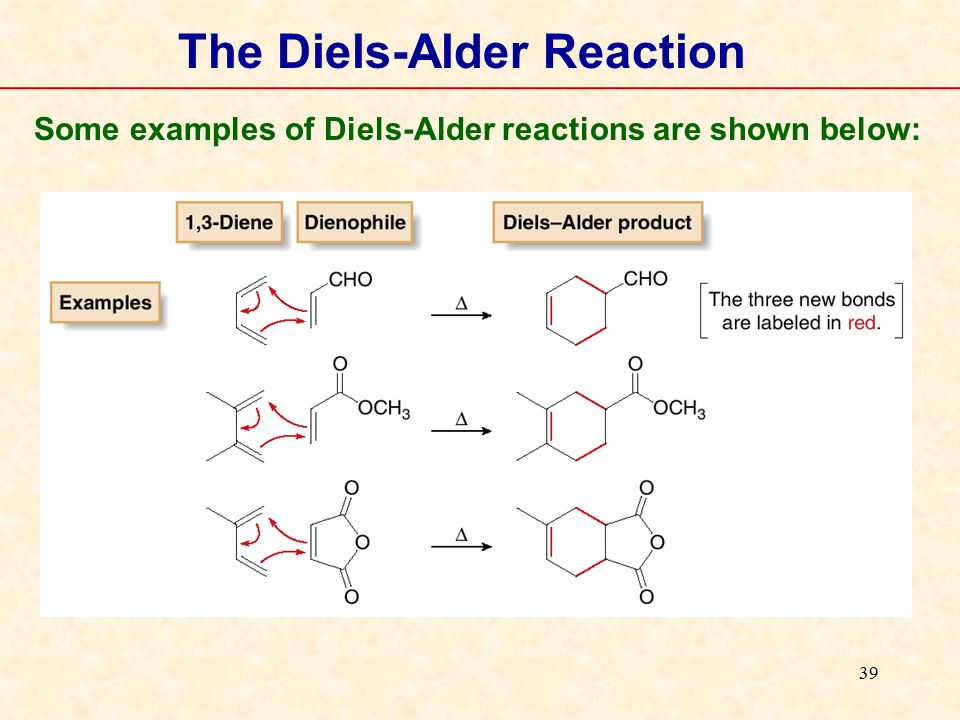 the formation of diels alder reactions essay The diels-alder reaction is enormously useful for synthetic organic chemists, not  only because ring-forming reactions are useful in general but.