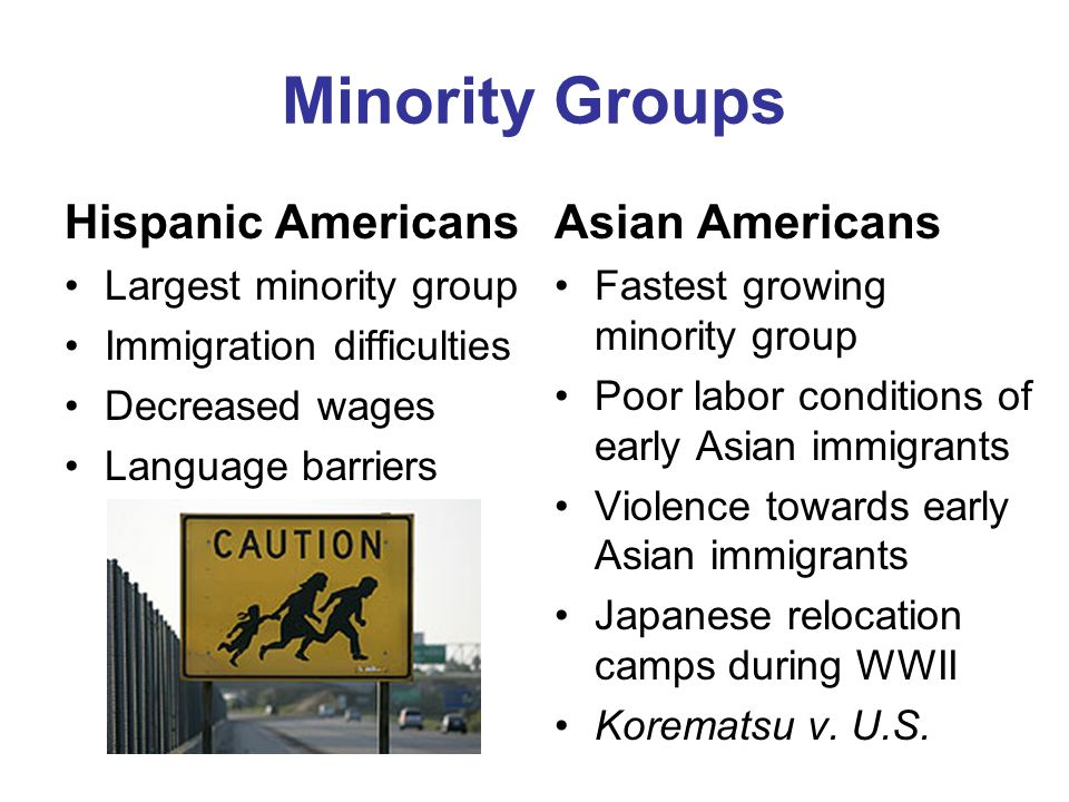 Asian minority rights