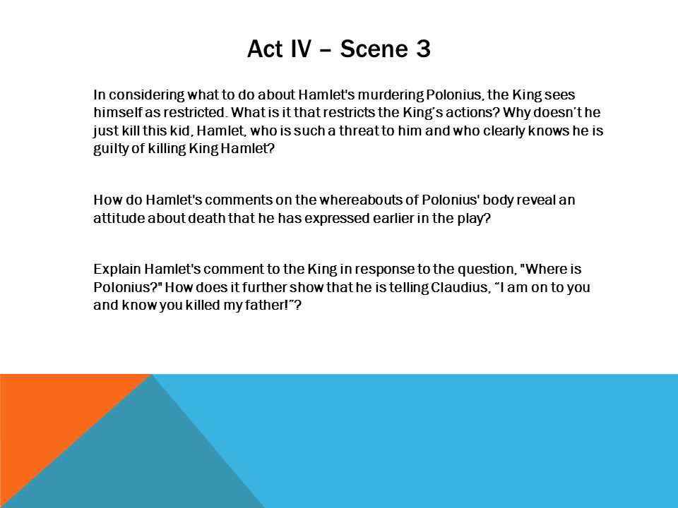 hamlet act 3 scene 4 analysis essay