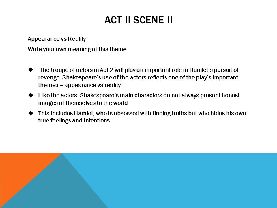 shakespeares hamlet reasons why hamlet delays the act of revenge Romeo and juliet study guide contains a biography of william shakespeare, literature essays, a complete e-text, quiz questions, major themes, characters, and a.