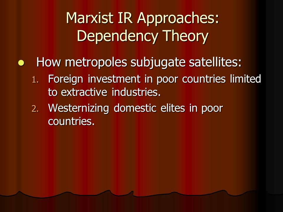 postcolonial dependency France's former dependencies in africa and southeast asia, from ivory coast to cambodia, don't seem to have fared nearly as well in the post-colonial era.