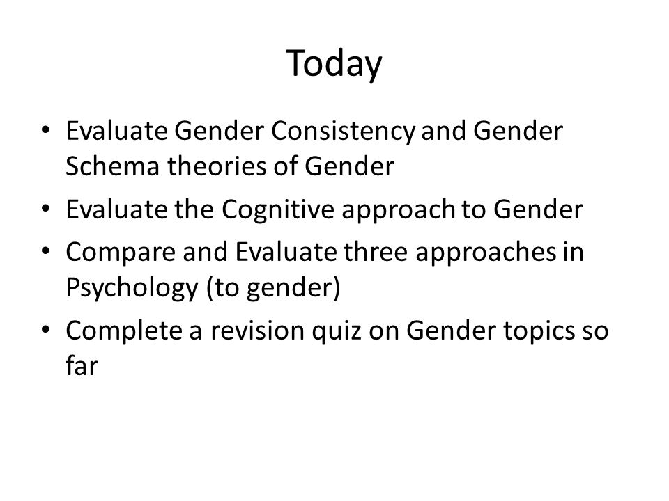 a description of the psychological effects of gender roles In 1978 women and sex roles: a social psychological these works added new knowledge to the field of gender psychology it has effects on the central.