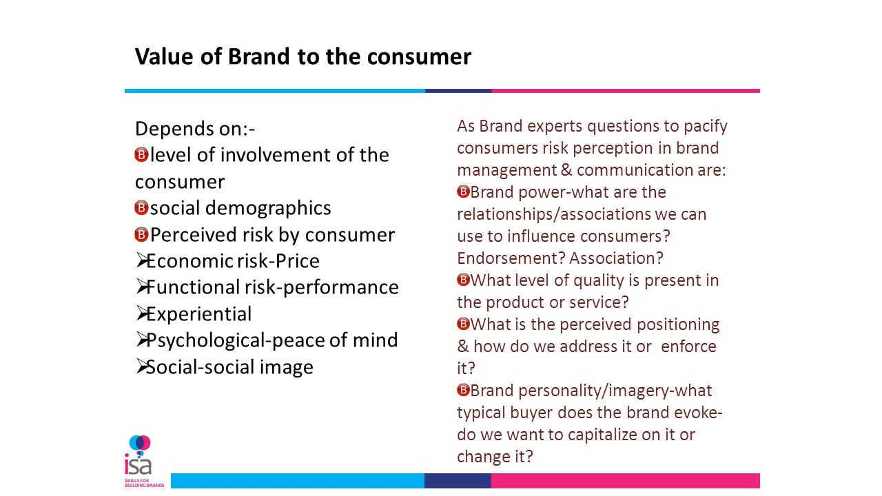 consumers' perceived value and brand image Perceived customer value is the value that your customers believe your products   perceived customer value is a marketing and branding related concept that   this is a simple message strategy as it only requires regular communication of.