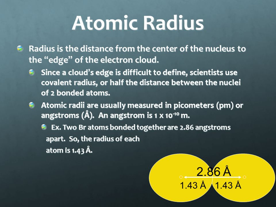 Periodic table periodic table atomic radii pm periodic table of periodic table periodic table atomic radii pm periodic trends and electron configurations ppt video urtaz Images