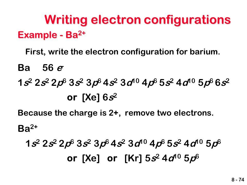 Images Of Barium Electron Configuration Spacehero